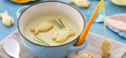 Sopa de pescado para niños